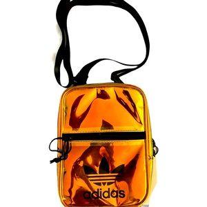 Adidas original translucent shoulder bag in GUC
